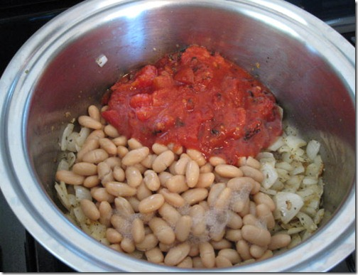 Beans & Fire Roasted Tomatoes