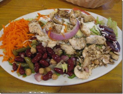 Mary's Salad with Chicken