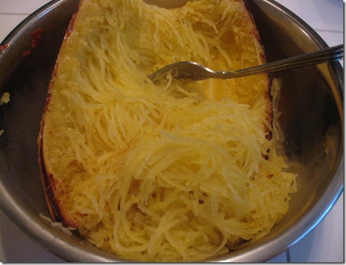 Roasted Spaghetti Squash