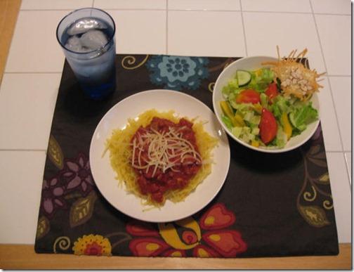 Ligher Italian Dinner