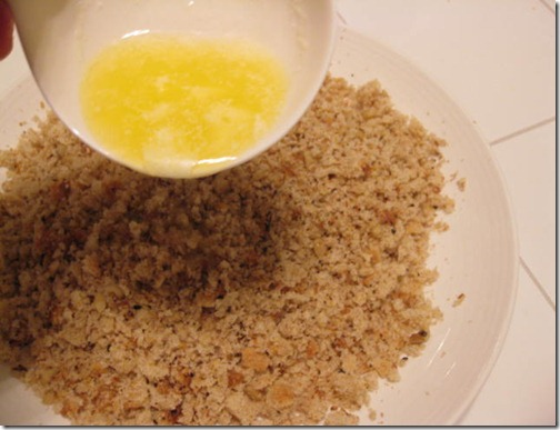 Whole Wheat Bread Crumbs with Butter
