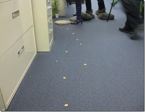 Trail of Bunny Snacks