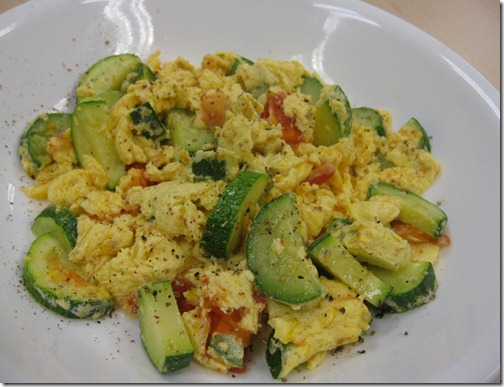 Zuchini Scramble