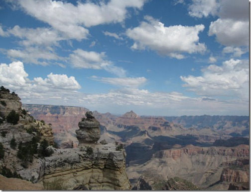 View from the top of the Grand Canyon