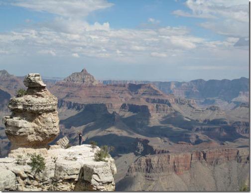 Climb the Grand Canyon Rock