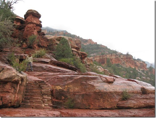 Slide Rock Stairs