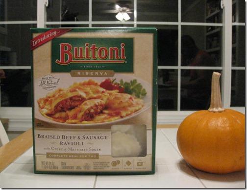 Buitoni Braised Beef & Sausage