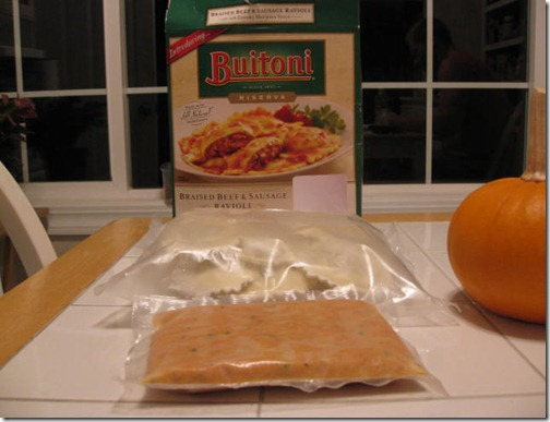 Buitoni what's in the box