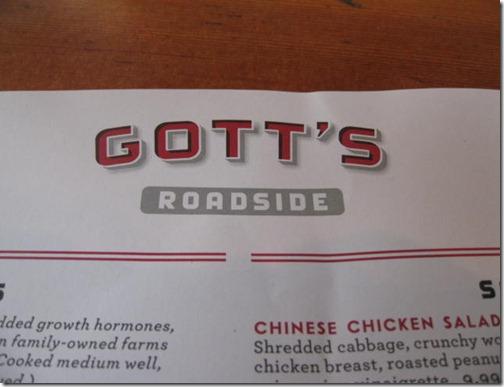 Gott's Roadside Grill
