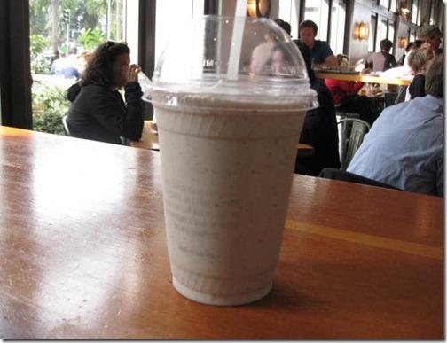 Vanilla Bean Milk Shake