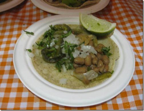 Tacolicious Vegan Taco