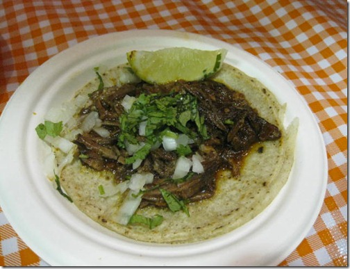 Braised Beef Chile Taco