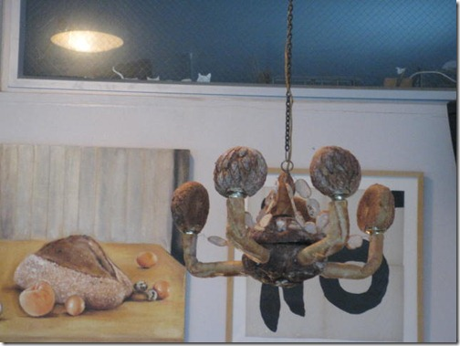 Bread Chandelier