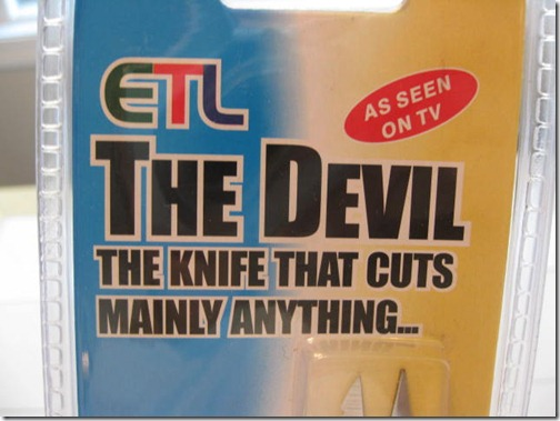 The Devil Knife
