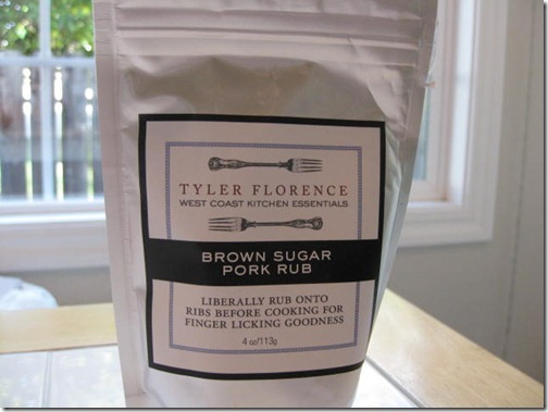 Tyler Florenece Brown Sugar Pork Rub