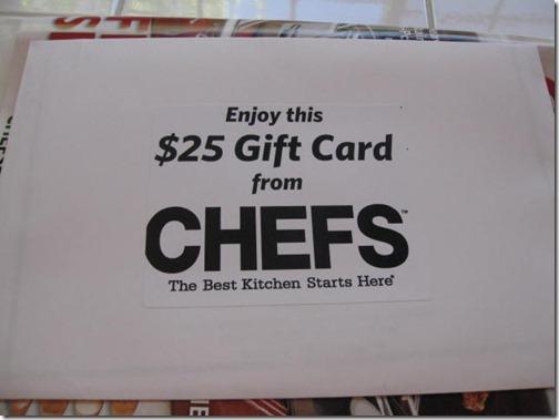 Chefs Catalog!