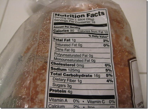 "Nature""s Pride Nutritional Information"