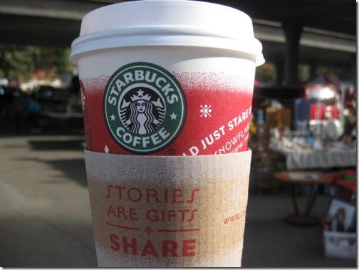 Starbuck's Christmas Latte