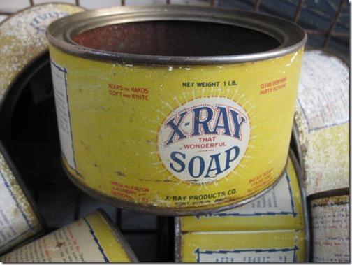 X ray soap