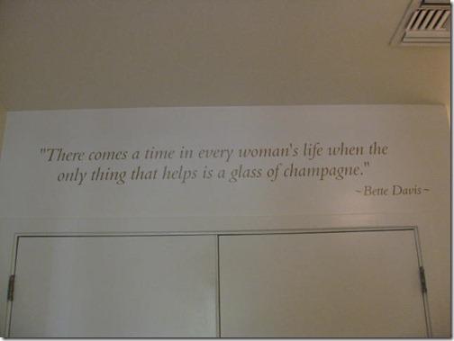 Bette Davis Champagne Quote