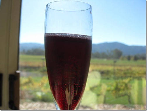 Sparkling Red Champagne