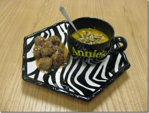 Meatballs & Soup