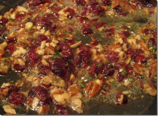 Butternut squash Ravioli's Sauces