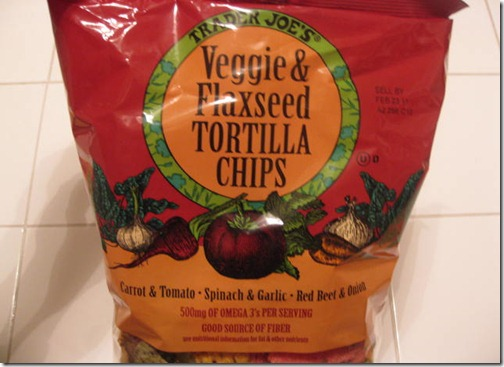 Veggie & Flaxseed Tortilla Chips