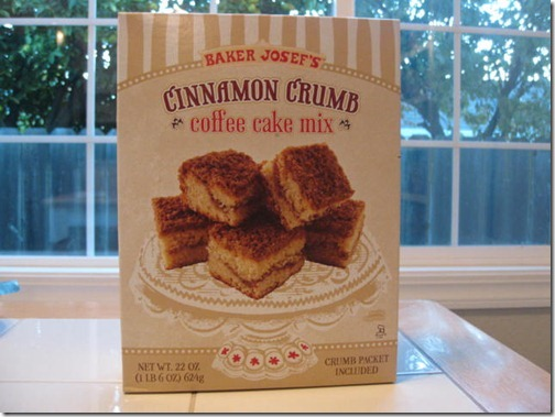 Trader Joe's Coffee Cake