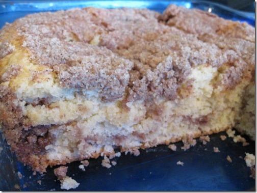 Layered Cinnamon Crumb Cake