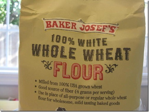 Trader Joe's White Whole Wheat Flour