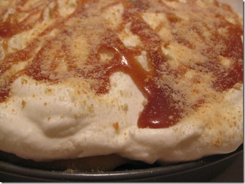 Salted Caramel Coconut Banana Pudding Pie