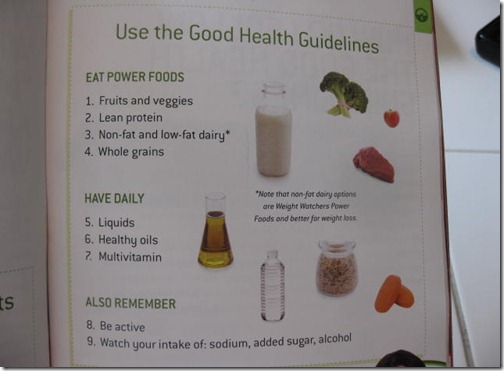 What are the good health guidelines