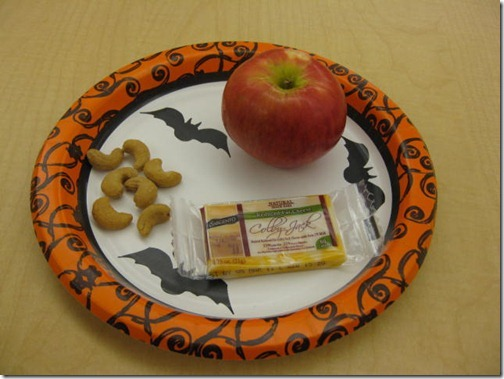 Halloween Snack Plate