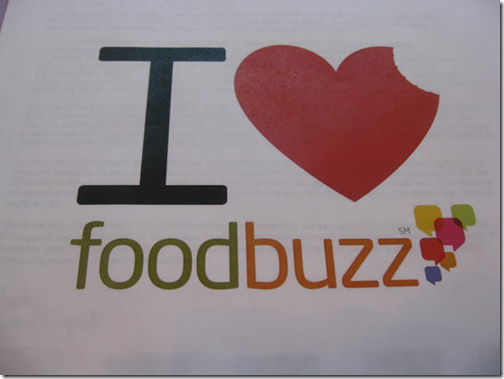 I LOVE Foodbuzz