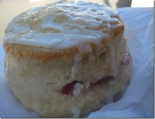 Healthy Cranberry Orange Scone