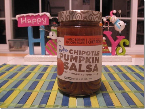Chipotle Pumpkin Salsa