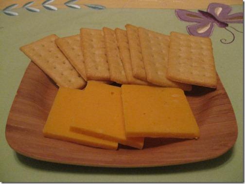 Bamboo cheese platter