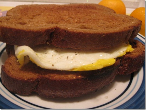 Healthy Egg Sandwich