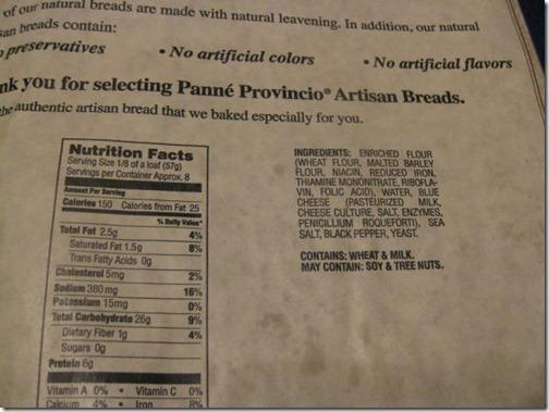 Panne Provinvio Artisan Breads
