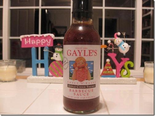 apple cider bbq sauce