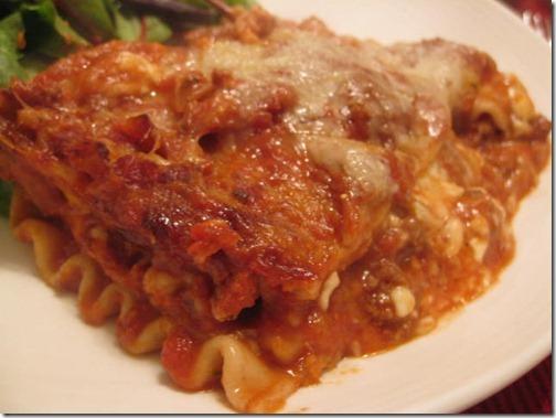 Recipe renovation - lasagna