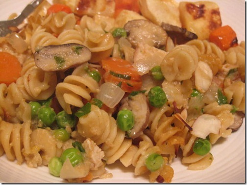 Clean Eating Chicken Tetrazzini