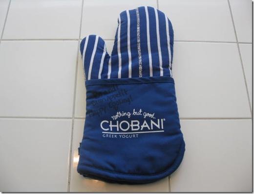 Chobani Oven Mitt
