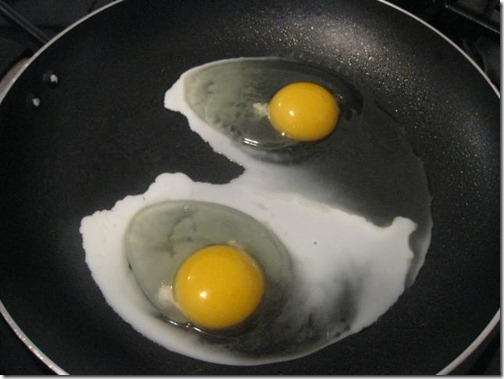 Healthy Fried Eggs