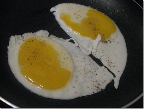 Weight Watchers Egg Sandwich