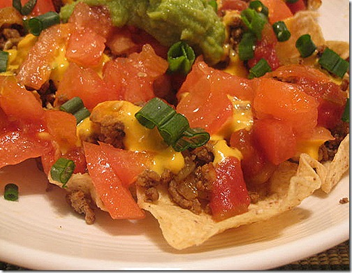 light nachos