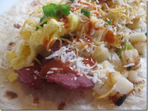 Weight Watchers Breakfast Burrito