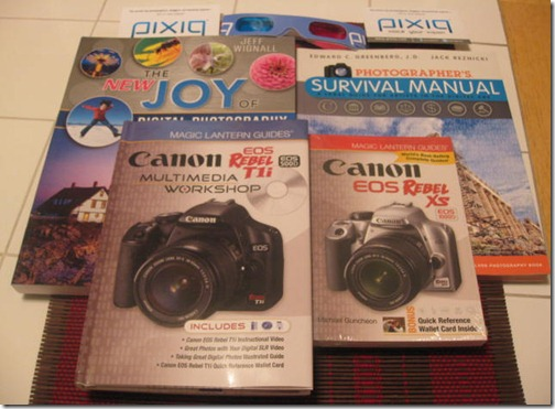 How to photography books
