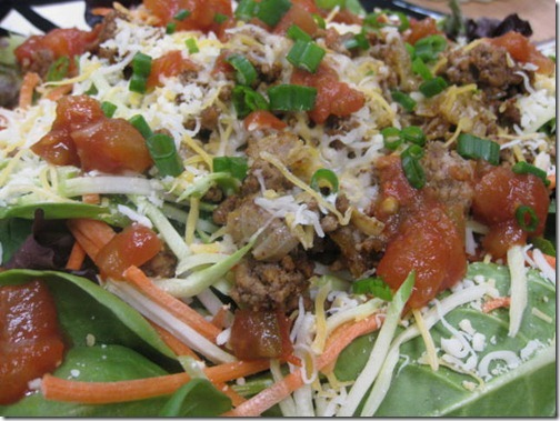 Weight Watchers Taco Salad